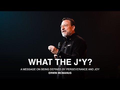 What The Joy  Erwin McManus - MOSAIC:ONLINE
