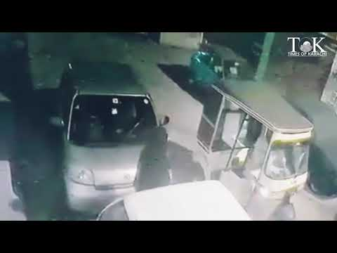 Auto Driver Snatched Purse From A Lady In DHA Phase 2