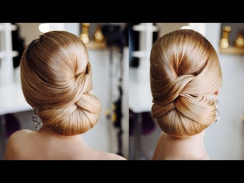 Simple Formal  Cute Hair Do Tutorial | Elegant  red carpet Low bun Idea - UCXGy3hSQn7RhfJwdvATmDbw