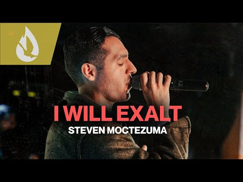 I Will Exalt (by Bethel Music) with Lyrics  Acoustic Worship Cover by Steven Moctezuma
