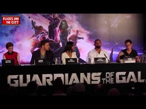 Guardians of the Galaxy Interviews - Chris Pratt, Zoe Saldana, Karen Gillan & Dave Bautista - UCS5C4dC1Vc3EzgeDO-Wu3Mg