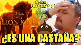 El REY LEÓN (2019) ES UNA MIERDA?  - CRÍTICAS - RottenTomatoes - Disney - Live Action - Lion King