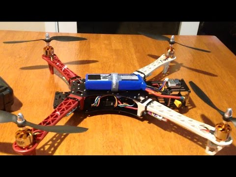 Reptile 500 550 Quadcopter - Build overview and first flight. Ready for FPV. - UCw49uOTAJjGUdoAeUcp7tOg