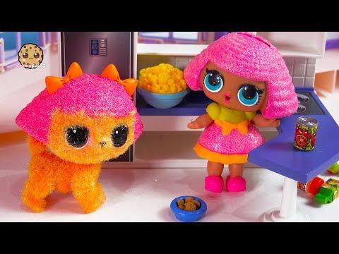 Monkey Around ! Fuzzy LOL Surprise Pet + Doll Play Video - Cookie Swirl C - UCelMeixAOTs2OQAAi9wU8-g