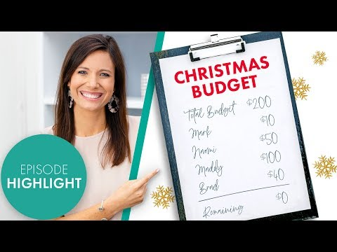 How to Do a Christmas Budget