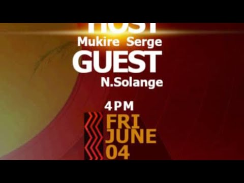 LIVE// City Light Show With N. Solange Host MUKIRE Serge 04.06.2021