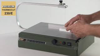 Termolõikur Proxxon Thermocut 230/E