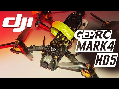 GEPRC MARK4 HD5 - DJI Digital Fpv Quad - FULL REVIEW & FLIGHTS - UCwojJxGQ0SNeVV09mKlnonA