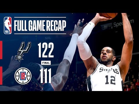 Full Game Recap: Spurs vs Clippers | Aldridge Scores 38 In LA