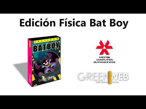 Edición física de Batboy (Greenweb Sevilla) Matranet.net