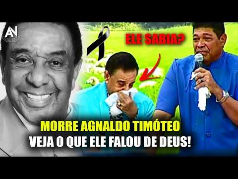 Partiu Cantor Agnaldo Timóteo: Veja a Última Mensagem de DEUS que Ele Deixou Antes de Partir