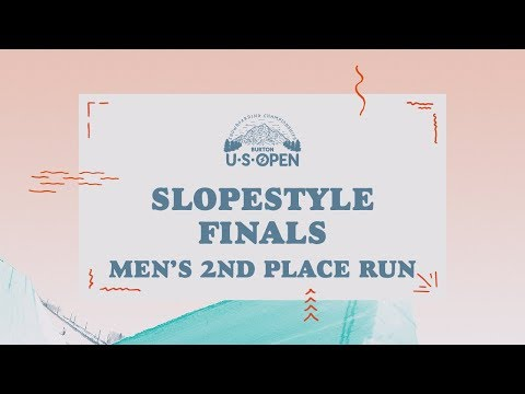 2018 Burton U·S·Open Men?s Slopestyle Finals ? Chris Corning's 2nd Place Run