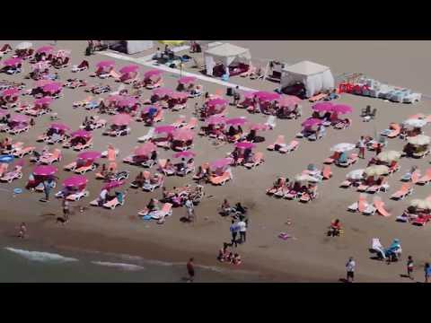 Şile plajlarında hafta sonu yoğunluğu yaşanıyor