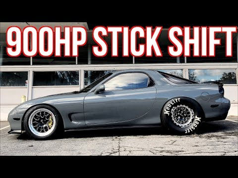 900HP RX7 SCARES Passengers | Street Racing Brutal Launches on the Street!