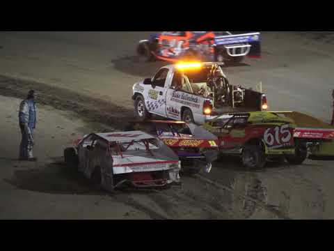 I.M.C.A A-Feature at Crystal Motor Speedway, Michigan on 06-19-2021!! - dirt track racing video image