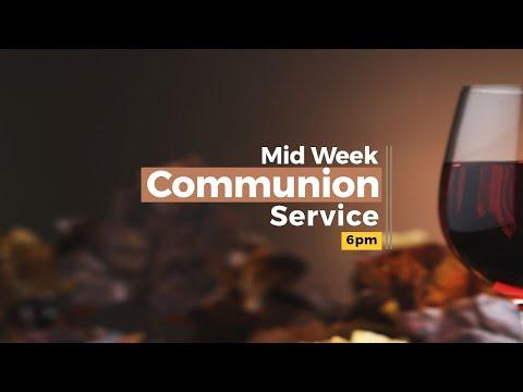 Mid Week Communion Service  04-21-2021  Winners Chapel Maryland