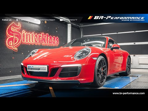 Sinterklaas Tunes a Porsche Carrera GTS / Stage 2 By BR-Performance