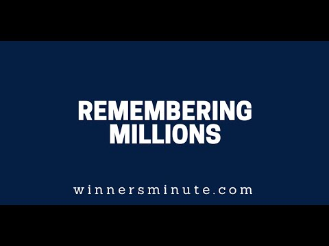 Remembering Millions  The Winner's Minute With Mac Hammond