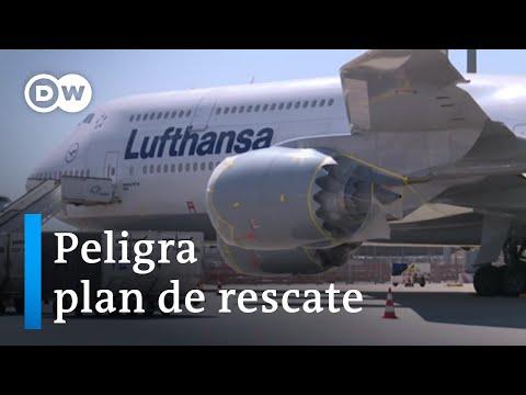 Destino de Lufthansa pende de un hilo