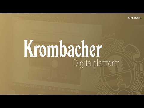 The Krombacher Digital Platform