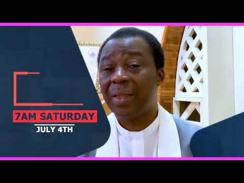 JULY 2020 PMCH WATER OF FIRE PROGRAM SPECIAL ANNOUNCEMENT BY DR. D.K. OLUKOYA(G.O MFM WORLD WIDE)