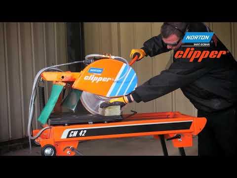 Norton Clipper kamenická pila CM 42