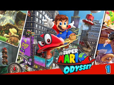 Super Mario Odyssey Part  8: !´ll be your 1 UP Girl