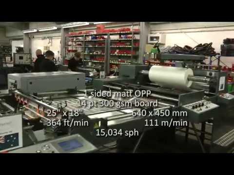 Autobond Mini 105 THS - on test for customer in Australia