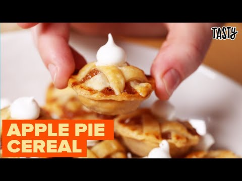 I Tried To Make Mini Apple Pie Cereal ? Tasty
