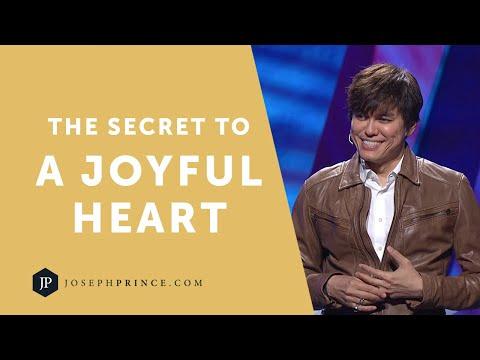 The Secret To A Joyful Heart  Joseph Prince
