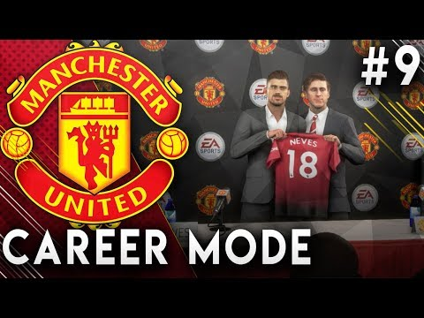 FIFA 19 Manchester United Career Mode EP9 - Amazing New Signing!! $100 Million Transfer!!