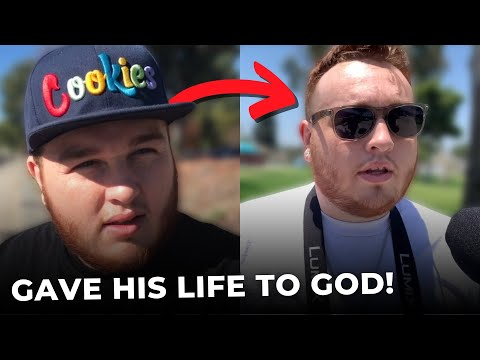 Ray Comfort Talked to Him 1 Year Ago...Look What's Happened Now!