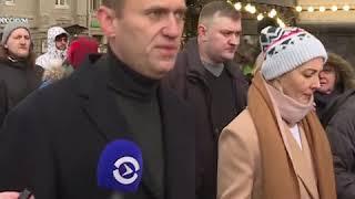 Навальный на Марше