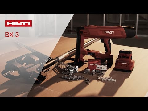REVIEW of Hilti's battery-actuated fastening tool BX 3