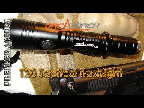 Orcatorch T20 Tactical Flashlight review