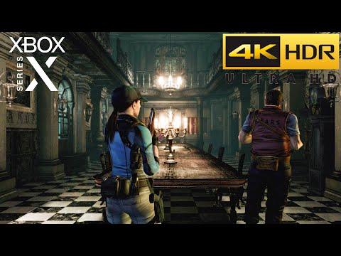 Resident Evil Remastered   Xbox Series X HDR 4K Gameplay   Jill Valentine