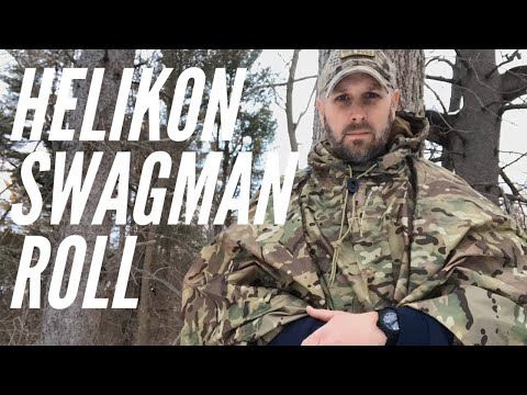 Clothing Multi-Tool: Helikon Tex Swagman Roll + Poncho: Sleeping Bag, Blanket, Woobie, Liner, Poncho