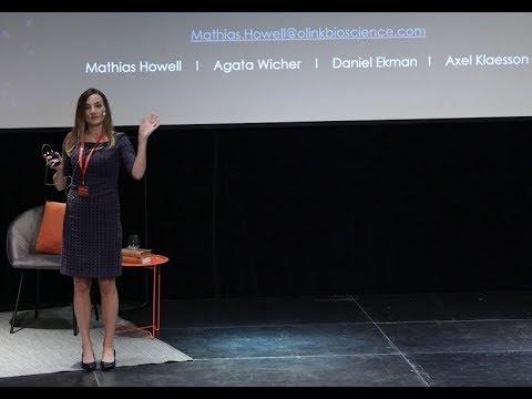 Agata Zieba-Wichers, Navimmune Bioscience pitch, UIC-dagen 2018