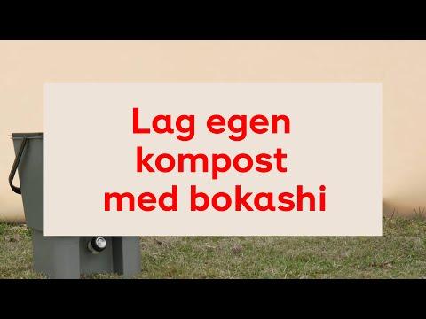 Lag egen kompost med bokashi