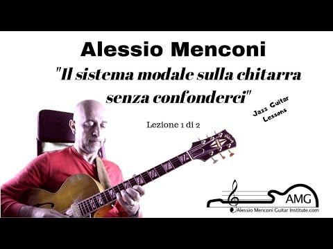 I modi sulla chitarra senza confonderci   Lezione 1 di 2    Alessio Menconi Guitar Lessons