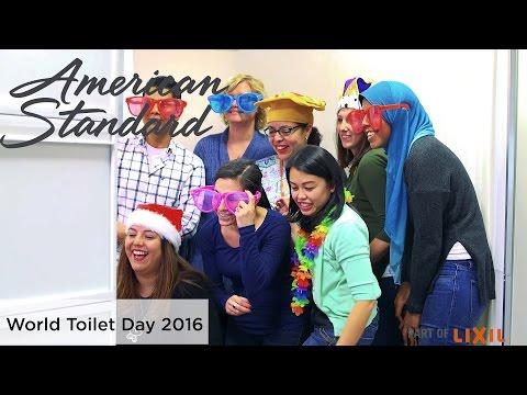World Toilet Day 2016 - American Standard