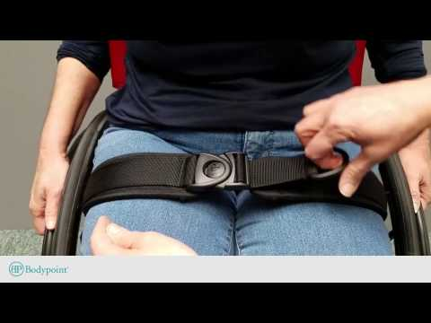 Bodypoint | How to fasten and release the swivel buckle