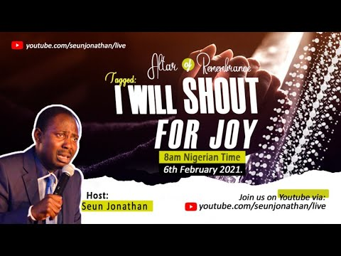 Altar of Remembrance - I WILL SHOUT FOR JOY +15877877875 Episode 10