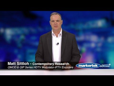 Contemporary Research QMOD & QIP Series HDTV Modulator IPTV Encoders