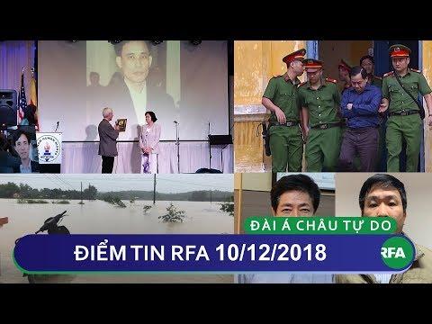 Điểm tin RFA tối 10/12/2018 | 3 nhà hoạt động nhân quyền Việt Nam nhận giải