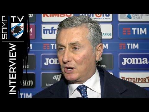 Sampdoria-Pescara, Pradè: «Giocato con mentalità vincente»