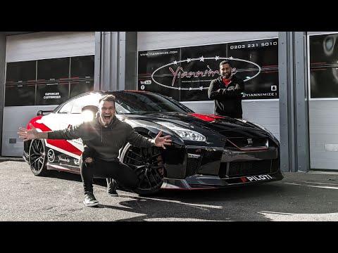 Yiannimize Wraps My Nissan GT-R!! *CRAZY SPEC*