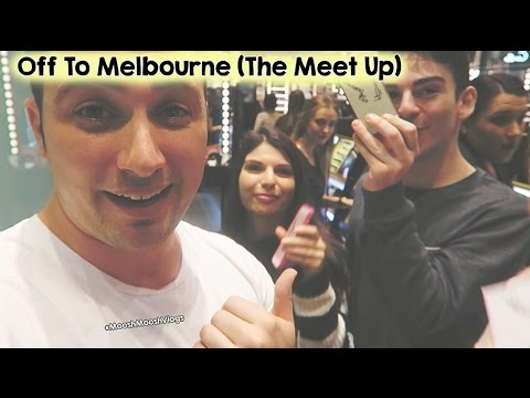 Off To Melbourne (The Meet Up) | MooshMooshVlogs