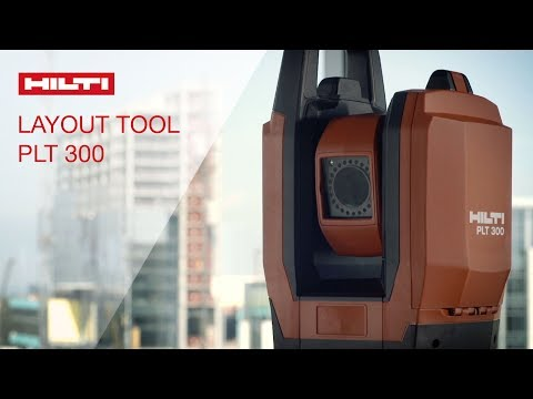 REVIEW of Hilti's PLT 300 positioning layout tool