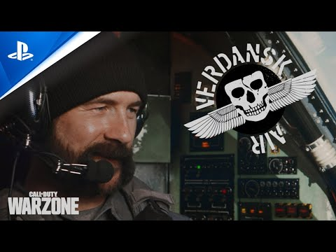 Call of Duty: Warzone - Verdansk Air Trailer | PS4